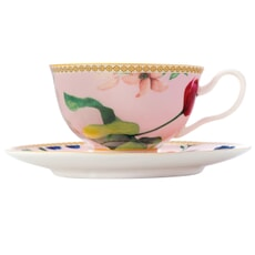 Maxwell and Williams Teas and Cs Contessa 200ml Footed Cup And Saucer Rose
