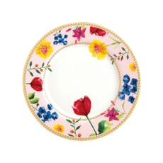 Maxwell and Williams Teas and Cs Contessa 19.5cm Rimmed Plate Rose