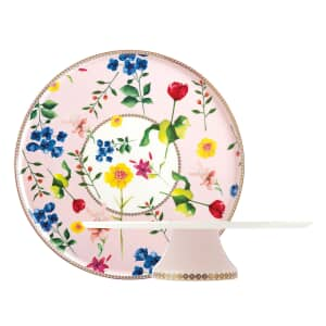 Maxwell and Williams Teas and Cs Contessa 30cm Footed Cake Stand Rose