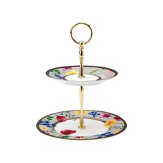 Maxwell and Williams Teas and Cs Contessa 2 Tier Cake Stand White