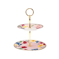 Maxwell and Williams Teas and Cs Contessa 2 Tier Cake Stand Rose
