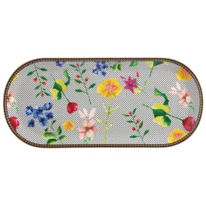 Maxwell and Williams Teas and Cs Contessa 33 x 15cm Oblong Platter White