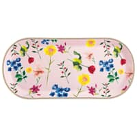 Maxwell and Williams Teas and Cs Contessa 42 x 19.5cm Oblong Platter Rose