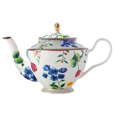 Maxwell and Williams Teas and Cs Contessa 1 Litre Teapot With Infuser White