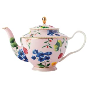 Maxwell and Williams Teas and Cs Contessa 1 Litre Teapot With Infuser Rose
