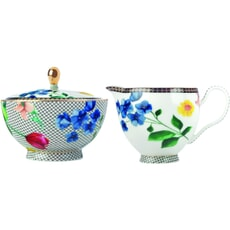 Maxwell and Williams Teas and Cs Contessa Sugar And Creamer Set White