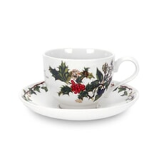 Portmeirion Holly and Ivy - Tea Cup And Saucer
