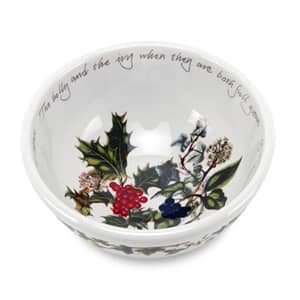 Portmeirion Holly and Ivy - 14cm Fruit/Salad Bowl