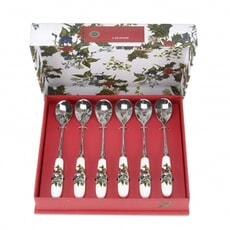 Portmeirion Holly and Ivy - Tea Spoon Set 6