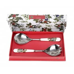 Portmeirion Holly and Ivy - Salad Servers