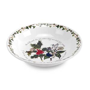 Portmeirion Holly and Ivy - 22cm Pudding / Pasta  Bowl