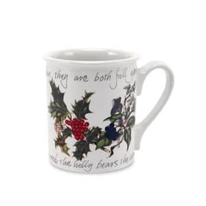 Portmeirion Holly and Ivy - Breakfast Mug