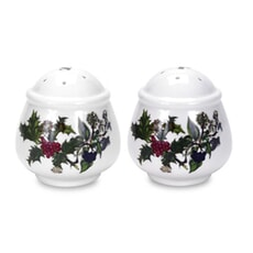 Portmeirion Holly and Ivy - Salt And Pepper Pots (R)