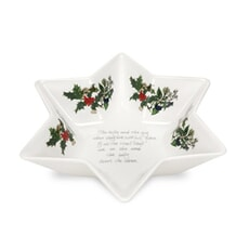 Portmeirion Holly and Ivy - Deep Star Dish