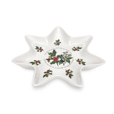 Portmeirion Holly and Ivy - Star Dish