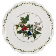 Portmeirion Holly and Ivy - Scalloped Platter