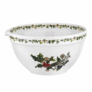 Portmeirion Holly and Ivy - 9 Inch Mixing Bowl