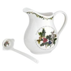 Portmeirion Holly and Ivy - 1.5pt Jug And Ladle