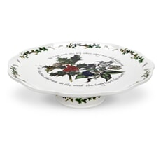 Portmeirion Holly and Ivy - Pierced Footed Cake Stand
