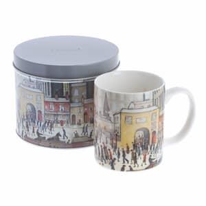 Dartington Art Mugs Lowry - Coming From The Mill