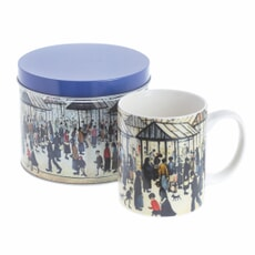 Dartington Art Mugs Lowry - Market Scene