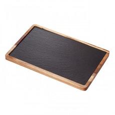 Judge Slate Platter 30x20cm