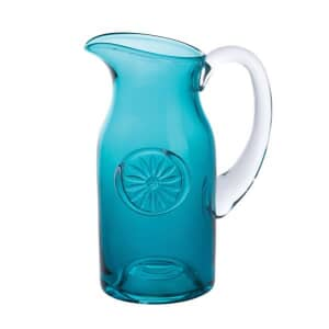 Dartington Daisy Slim Teal Jug