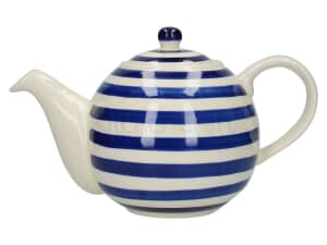 London Pottery Globe� 4 Cup Teapot Blue Bands