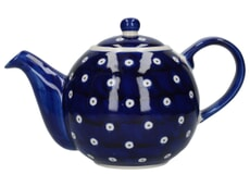 London Pottery Globe� 4 Cup Teapot Blue And White Circle