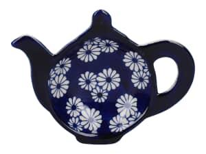 London Pottery Tea Bag Tidy Small Daisies