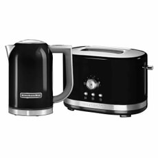 KitchenAid KitchenAid 1.7 Kettle and 2 Slot M/C Onyx Black Toaster Set
