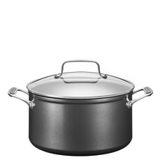 KitchenAid Hard Anodized 5.6L Low Casserole