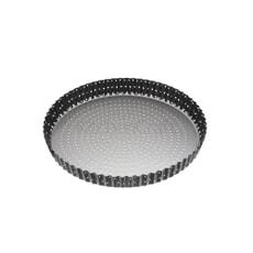 MasterClass Crusty Bake 28cm Non-Stick Fluted Round Flan / Quiche Tin