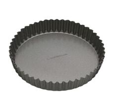 MasterClass Non-Stick 25cm Loose Base Fluted Quiche Tin
