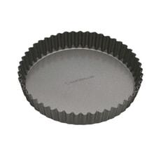 MasterClass Non-Stick 23cm Loose Base Fluted Quiche Tin