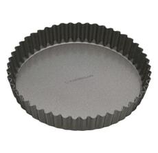 MasterClass Non-Stick 30cm Loose Base Fluted Quiche Tin