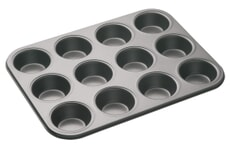 MasterClass Non-Stick 12 Hole Deep Baking Pan