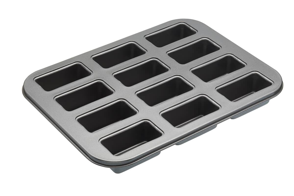 MasterClass Non-Stick Twelve Hole Mini Loaf Tin