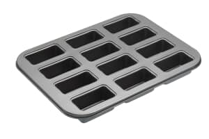 MasterClass Non-Stick Twelve Hole Mini Loaf Tin