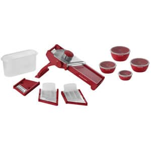 KitchenAid Pro Series Mandoline Slicer Set Red