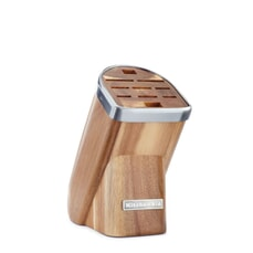 KitchenAid Knife Block with Free Paring Knife Natrual Series Acacia
