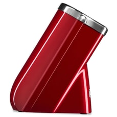 KitchenAid Knife Block with Free Paring Knife Candy Apple