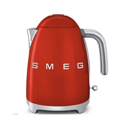 Smeg Kettle Red 3D Logo