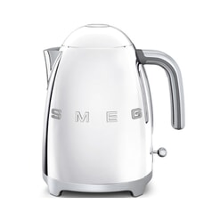 Smeg Kettle Polished Steel 3D Logo
