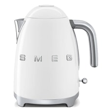 Smeg Kettle White 3D Logo