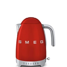 Smeg Kettle Red Variable Temperature
