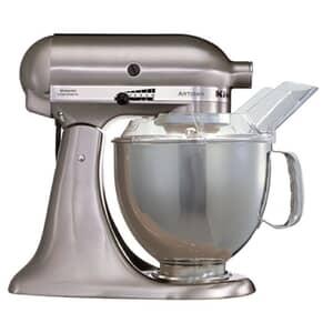 KitchenAid Artisan Mixer 4.8L Brushed Nickel KSM150BNK