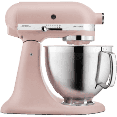 KitchenAid Artisan Mixer 4.8L Feather Pink (KSM185PSBFT)