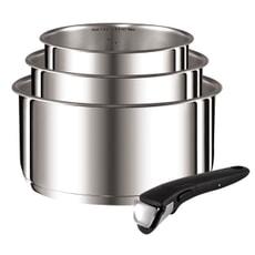 Tefal Ingenio S/Steel 4 Piece Pan set