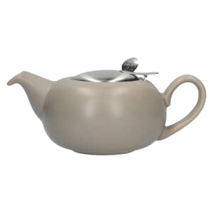London Pottery Pebble® Filter 2 Cup Teapot Matte Putty
